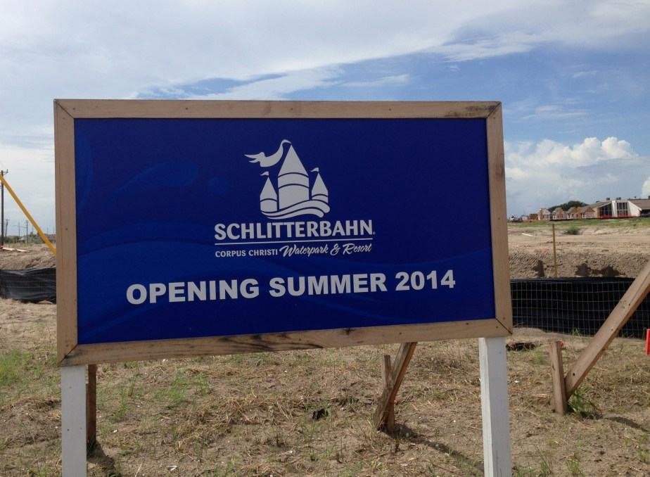 Schlitterbahn Update: Corpus Christi – Swim up bar and Chute!