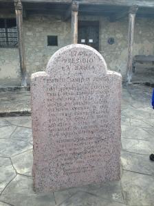 At the entrance of Presidio la Bahia
