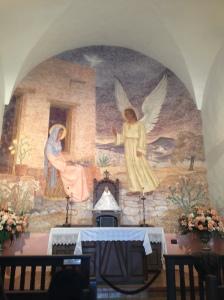 Inside the La Bahia Catholic Mission