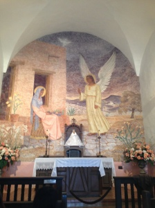 Inside the La Bahia Catholic Mission