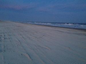Blank canvas beaches