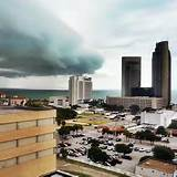 Cold front approaching Corpus Christi. Photo courtesy of http://www.kztv10.com/news/
