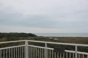 One of several observation decks at Aransas Wildlife Refuge.
